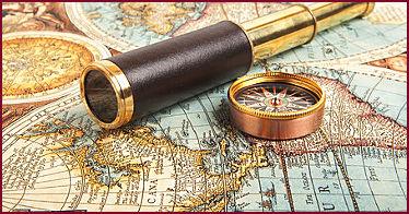 Landkarte, die Astrokartographie verwendet