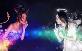 Engel und Teufel als Berater