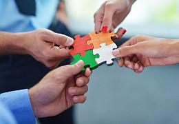 Puzzle symbolisiert den passenden Beruf im Berufshoroskop