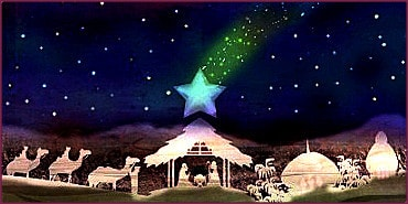 Stern von Bethlehem im Geburtshoroskop von Jesus