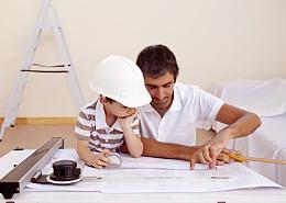 Vater-Sohn-Teamwork, Beispiel wie ein Horoskop hilft