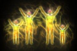 Auren von Familienmitgliedern: seelenverwandt sein energetisch