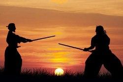 Zwei Samurai: Seelenverwandte als Gegner