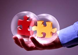 Puzzle als Analogie für Selbsterkenntnis