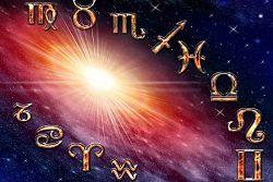 Tierkreis mit Sternzeichen
